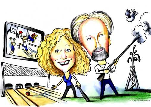 30th anniversiary caricature