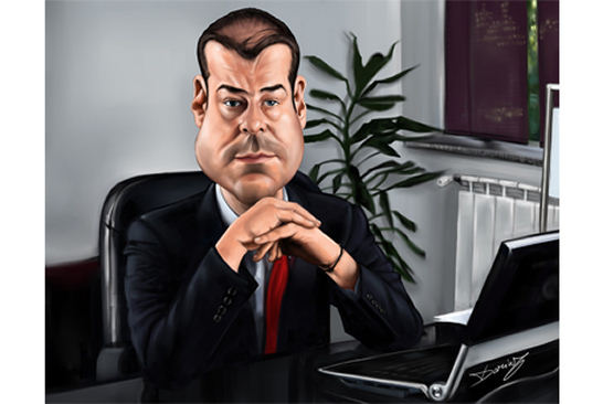 Caricature Office Gift