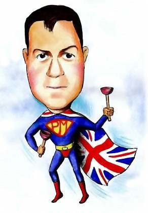 British Super hero plumber