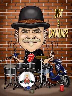 drummer-man-caricature