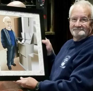 retirement art