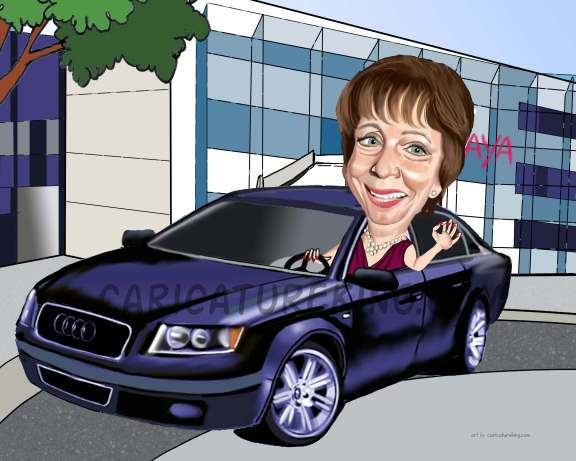 lady-in-car-retirement-gift-art (45K)