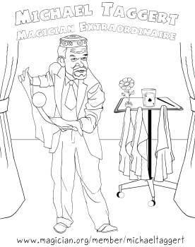 magicman caricature)