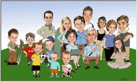 Family-Reunion-memento-art-drawing