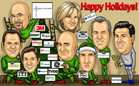office greeting card art caricature design