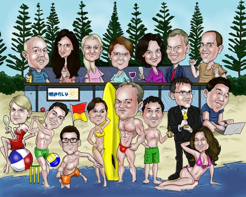 manly-beach-office-caricature (87K)