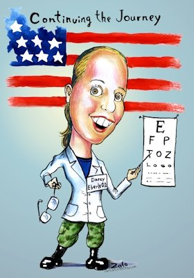 army optician fun art