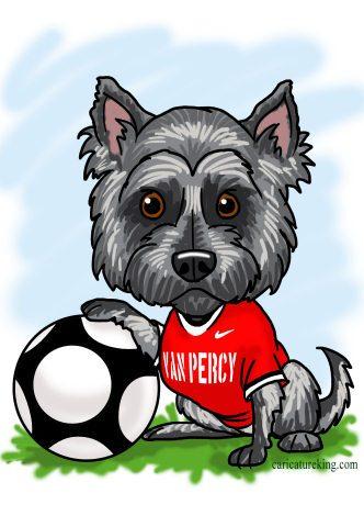 soccer-dog-caricature (47K)