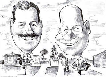 corporate gift caricature