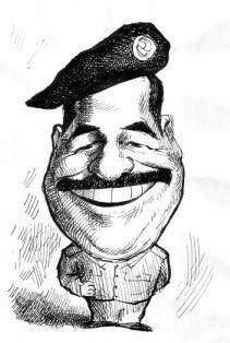 hand drawn caricature
